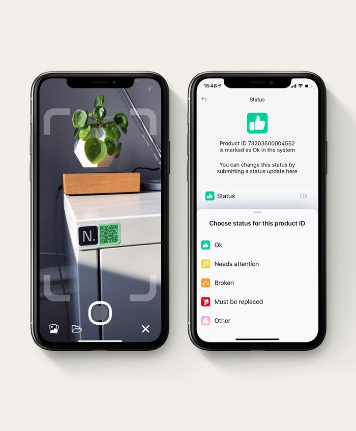 NORNORM app QR code