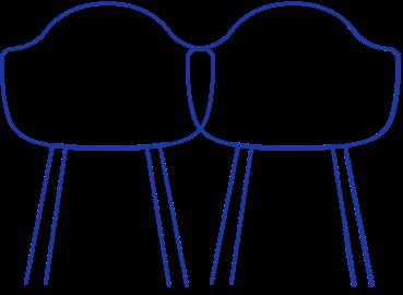 Furniture sets illustration