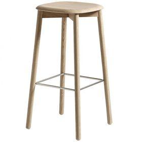 Light wooden high stool
