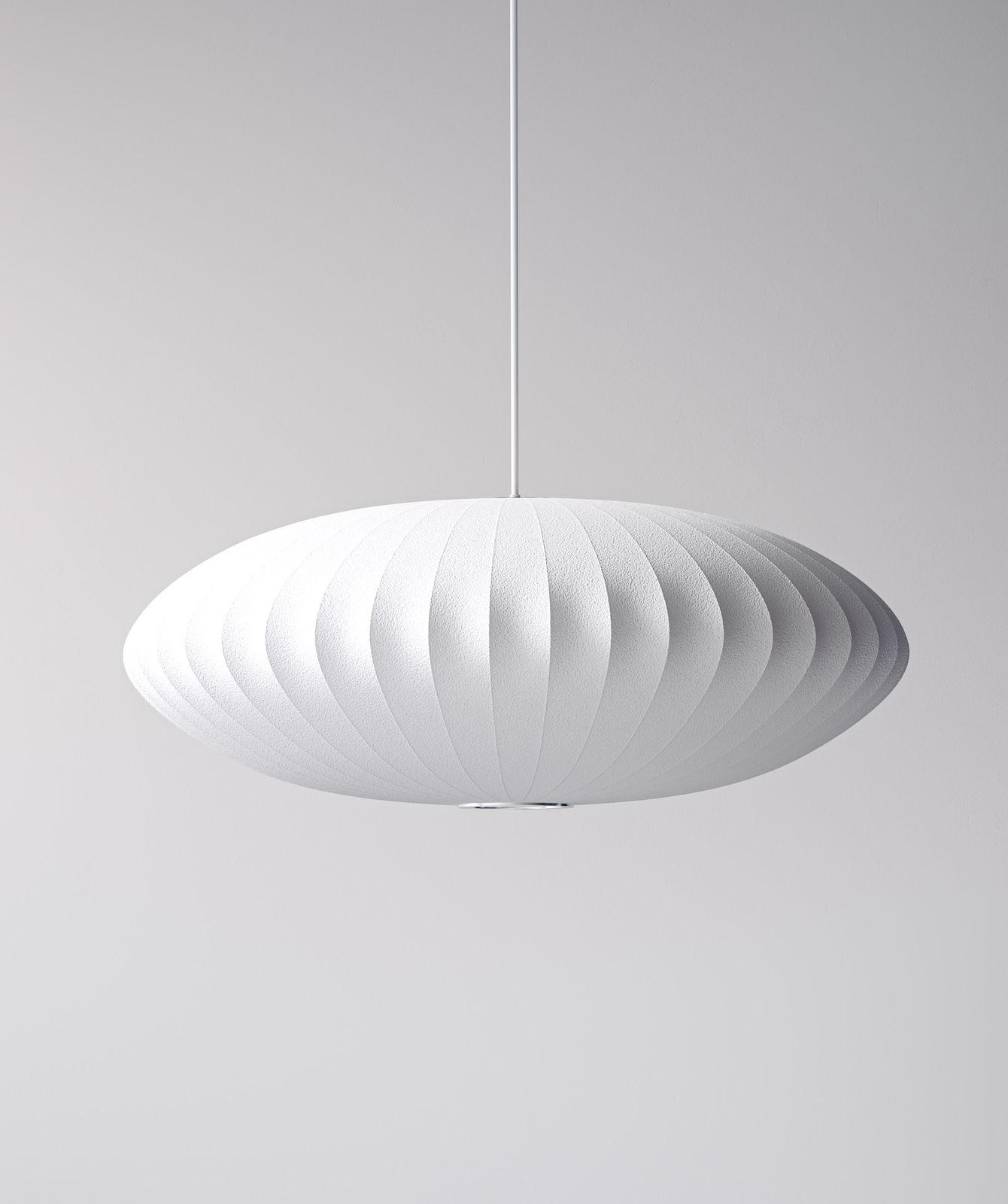 Beautiful pedant lamp in minimal setting