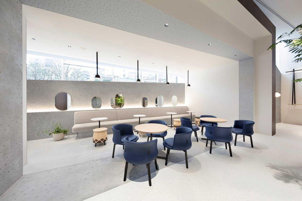 Open Lounge Area Office Space