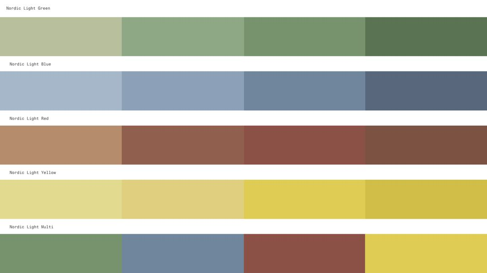 NORNORM Style Expressions Supplementary colors