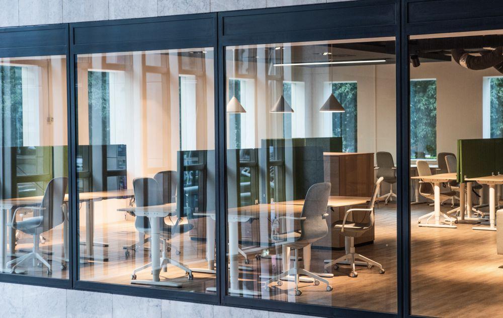 MRP office in Amsterdam window view